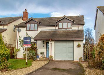 Thumbnail 4 bed detached house for sale in Barnshill Close, Cheriton Fitzpaine, Crediton