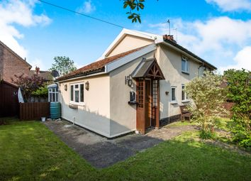 Thumbnail 2 bed semi-detached house for sale in Shop Street, Worlingworth, Woodbridge