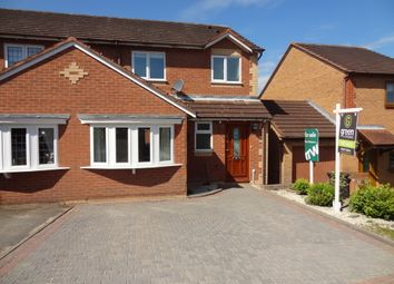 Thumbnail 3 bed semi-detached house for sale in The Lair, Birchmoor, Tamworth