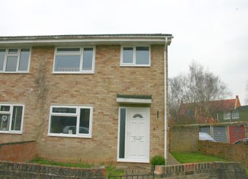 Thumbnail 3 bed semi-detached house to rent in Orchard Park Close, Hungerford