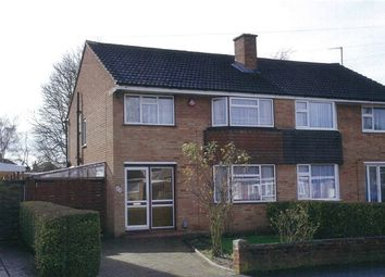 Thumbnail 4 bed semi-detached house to rent in Portland Close, Bedford, Beds