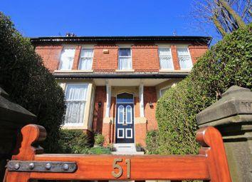Thumbnail 4 bed semi-detached house for sale in 51 Breck Road, Poulton-Le-Fylde, Lancs