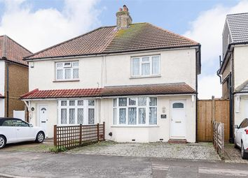 Thumbnail 2 bed semi-detached house for sale in Gander Green Lane, Sutton, Surrey