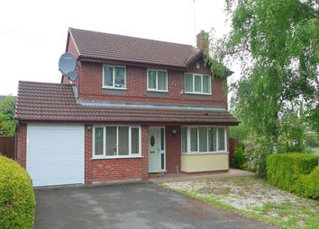 Thumbnail 3 bed detached house to rent in Darwin Close, Stafford