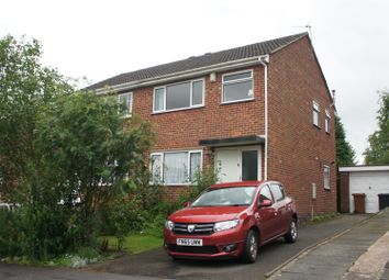 Thumbnail 3 bedroom semi-detached house for sale in Farr Wood Close, Groby, Leicester