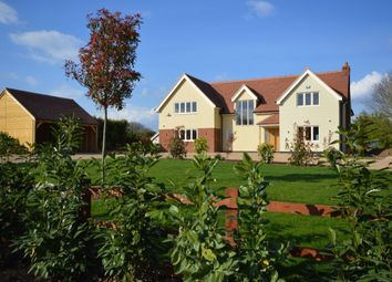 Thumbnail 5 bed detached house for sale in Slough Road, Allens Green, Sawbridgeworth
