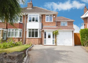 Thumbnail 4 bed semi-detached house for sale in Littlemead Road, Shirley, Solihull