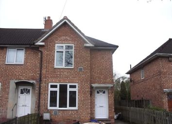 Thumbnail 3 bed semi-detached house to rent in Folliott Road, Kitts Green, Birmingham