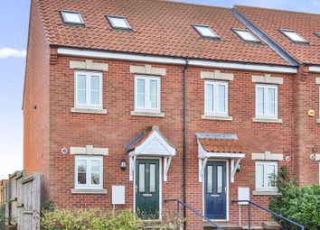 Thumbnail 3 bed town house for sale in Waterworks Road, Norwich