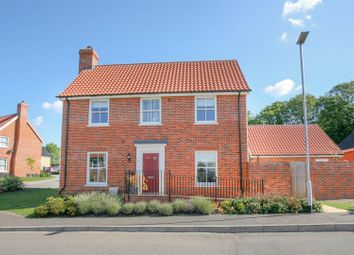 Thumbnail 4 bed link-detached house for sale in Beech Road, Saxmundham