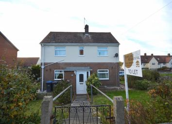 Thumbnail 2 bed semi-detached house to rent in Mossway, Pelton, Chester Le Street