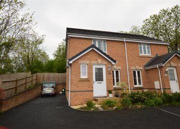 Thumbnail 2 bed semi-detached house for sale in Heol Miaren, Llanharry, Pontyclun