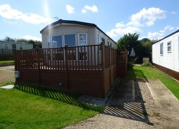 Thumbnail 2 bed mobile/park home for sale in Riverview Park, Station Road, Cogenhoe, Northampton