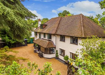 Thumbnail 5 bed detached house for sale in Pyrford, Surrey