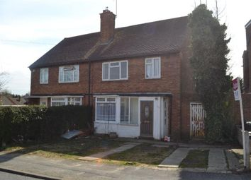Thumbnail 3 bed semi-detached house to rent in Coates Way, Garston, Watford