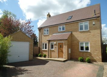 Thumbnail 4 bedroom detached house to rent in Maffit Road, Ailsworth, Peterborough