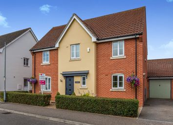 Thumbnail 4 bed detached house for sale in Lomond Road, Attleborough