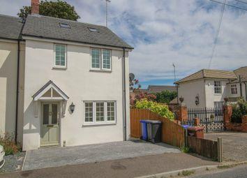 Thumbnail 2 bedroom end terrace house for sale in Haverhill Road, Kedington, Haverhill