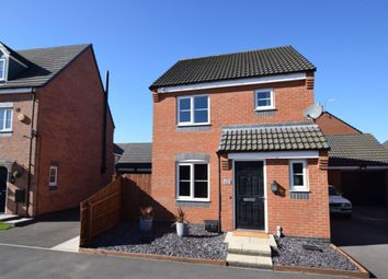 Thumbnail 3 bed detached house for sale in Long Swath Way, Birstall, Leicester