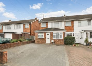 Thumbnail 3 bed end terrace house for sale in Sidney Road, Walton-On-Thames