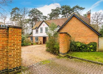 Thumbnail 5 bed detached house for sale in Hook Heath, Woking