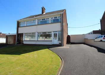 Thumbnail 3 bedroom semi-detached house for sale in Lisnabreen Crescent, Bangor