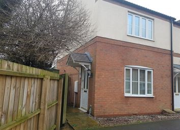 Thumbnail 2 bed end terrace house to rent in Copperfields, Wisbech