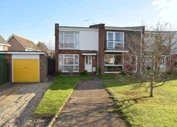 Thumbnail 3 bed end terrace house for sale in Downsview Road, Bembridge, Isle Of Wight