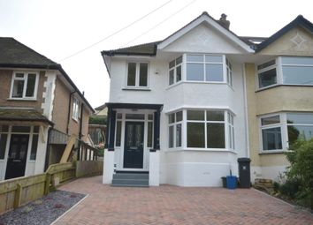 Thumbnail 3 bed semi-detached house for sale in Peaslands Road, Sidmouth, Devon