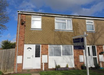 Thumbnail 2 bed end terrace house for sale in Orchard Road, Lutterworth