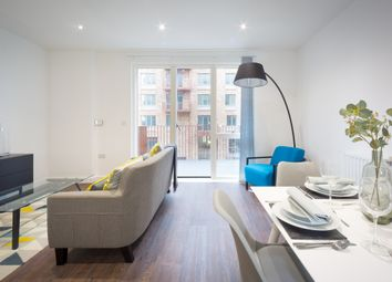 Thumbnail 1 bedroom flat to rent in Samuel Building, Shackleton Way, London