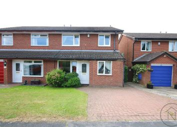 Thumbnail 3 bed semi-detached house for sale in Troon Avenue, Darlington