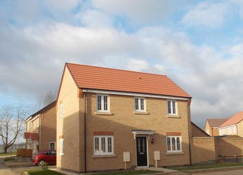Thumbnail 3 bed detached house for sale in Oban Drive, Peterborough