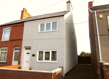 Thumbnail 2 bed semi-detached house for sale in Oxford Street, Scunthorpe