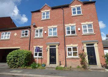 Thumbnail 3 bed town house to rent in Coral Close, Derby