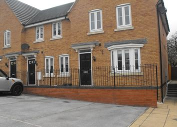 Thumbnail 3 bed town house to rent in Church View Drive, Old Tupton, Chesterfield