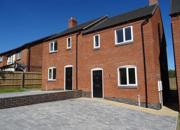 Thumbnail 3 bed semi-detached house for sale in Alan Garlick Court, Whitwick