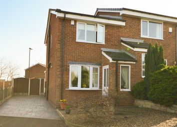 Thumbnail 2 bed semi-detached house for sale in Oakworth Close, Halfway, Sheffield