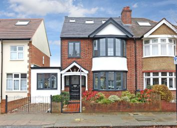Thumbnail 4 bed semi-detached house for sale in Burnham Way, Ealing