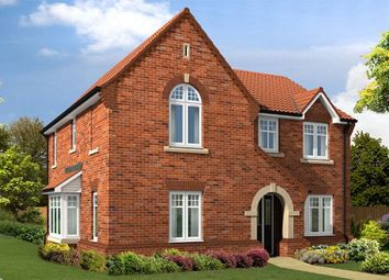 "Thumbnail 4 bed detached house for sale in ""The Salcombe V1"" at Flaxley Road, Selby"