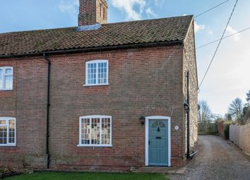 Thumbnail 3 bed cottage for sale in The Street, Helhoughton, Fakenham