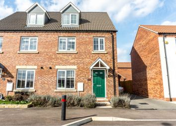 Thumbnail 3 bed semi-detached house for sale in Roeburn Way, Spalding