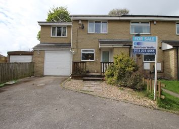 Thumbnail 3 bedroom semi-detached house for sale in Fairburn Gardens, Eccleshill, Bradford