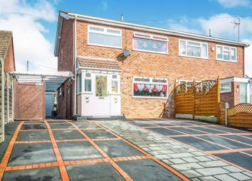 Thumbnail 3 bed semi-detached house for sale in Hall Road, Lowestoft
