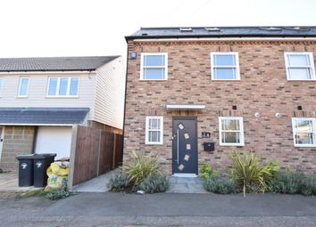 Thumbnail 3 bed semi-detached house to rent in Farmadine Grove, Saffron Walden