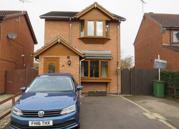 Thumbnail 3 bed detached house for sale in George Hill Close, Stoney Stanton, Leicester