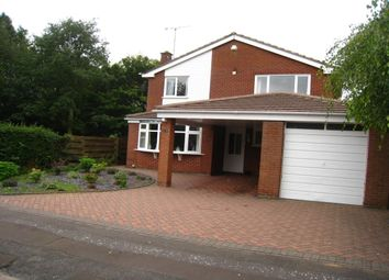 Thumbnail 4 bed detached house for sale in Jacklin Drive, Finham, Coventry