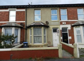 Thumbnail 3 bedroom terraced house for sale in Bute Avenue, Blackpool