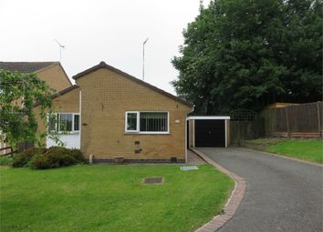 Thumbnail 2 bedroom detached bungalow for sale in Tiverton Close, Oadby, Leicester