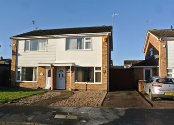 Thumbnail 3 bed property for sale in Montague Avenue, Syston, Leicester